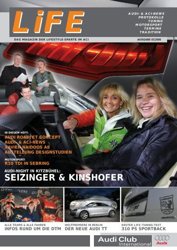 SEIZINGER & KINSHOFER - Audi Club International
