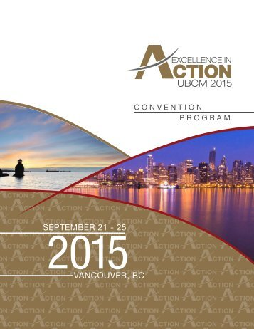 2015 UBCM Program For Web