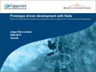 Prototype driven development with Rails