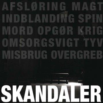 skandaler -
