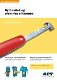 Hydraulisk og elektrisk sikkerhed