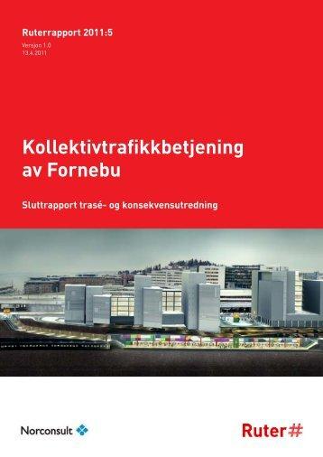 Kollektivtrafikkbetjening av Fornebu