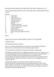 Generalforsamling: Dansk Selskab for parasitologi, 24/3-2012 ...