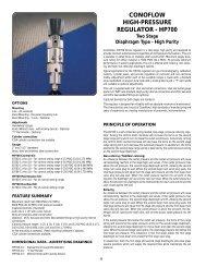 Read the HP700 Datasheet - ITT Conoflow