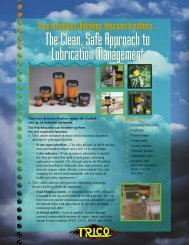 The Clean Safe Approach to Lubrication Management