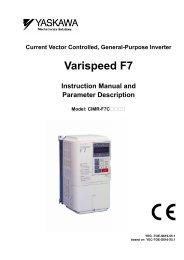 Varispeed F7
