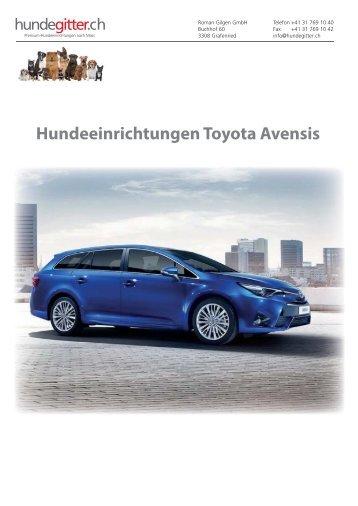 Toyota_Avensis_Hundeeinrichtungen