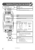 AC Variable Speed Drive Installation & Operating Instructions - Page 2