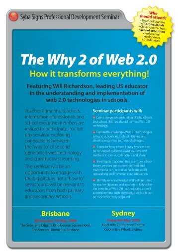 The Why 2 of Web 2.0