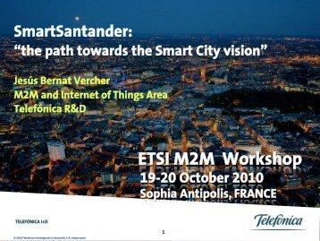 ETSI M2M Workshop