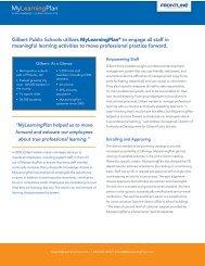 Gilbert Public Schools - My Learning Plan