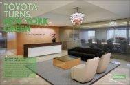TOYOTA TURNS NEW YORK GREEN
