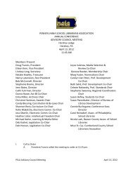 Minutes, Advisory Council Meeting, April 2012.pdf - PSLA wiki