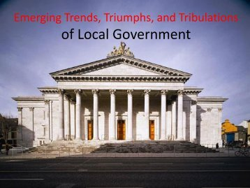 of Local Government