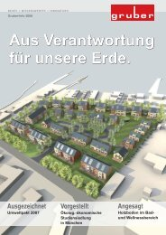 Firmen-Info 2008 - Gruber Innenausbau