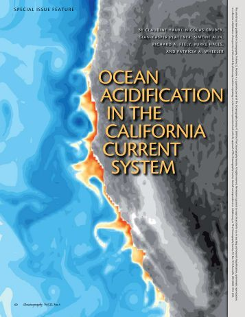 OceaN aciDiFicatiON iN tHe caliFOrNia curreNt SYSteM OceaN ...