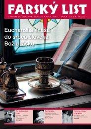 Eucharistia vnáša do srdca človeka Božiu lásku
