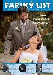 Budujme manželstvá na kolenách