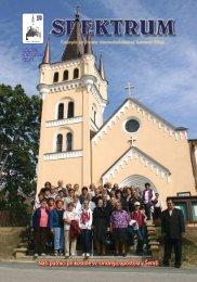 Naši pútnici pri kostole sv. Ondreja, apoštola v Šemši - Víťaz