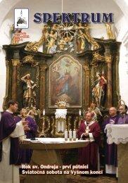 Rok sv Ondreja - prví pútnici Sviatočná sobota na Vyšnom konci