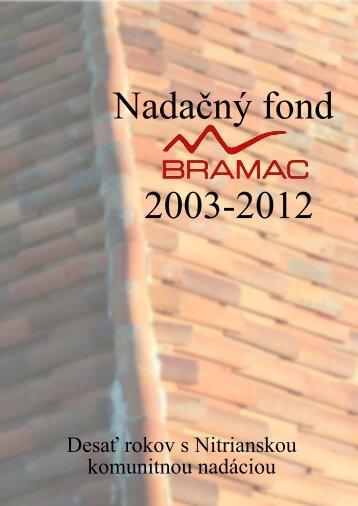 Nadaèný fond 20032012