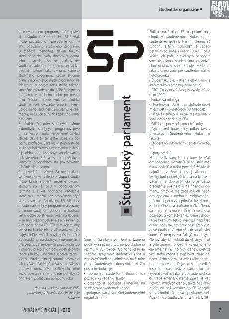e5900ce9c Škola Príhovor prodekan