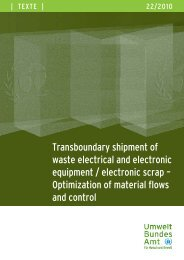 Transboundary shipment of waste electrical and ... - Basel Convention