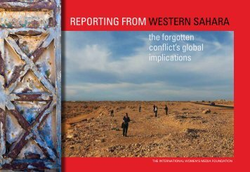 Reporting from Western Sahara