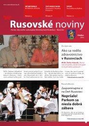 Rusovské noviny