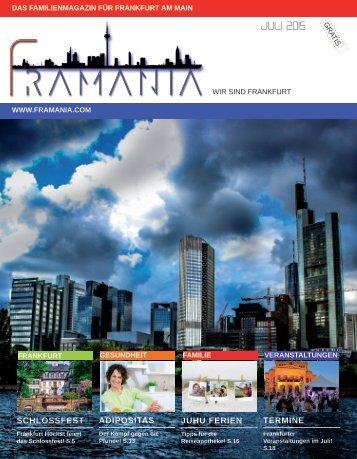 Framania Magazin Juli 2015