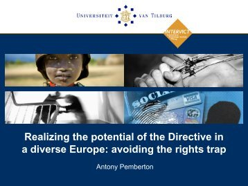 a diverse Europe avoiding the rights trap
