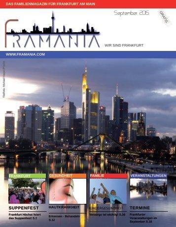 Framania Magazin Ausgabe September 15