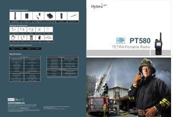 PT580 - TETRA