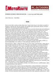 EXPEDICE EUROPA CROSS ROADS 2011 – 1.verze ... - Webnode