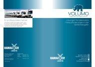 VOLUMO Folder Getränkelogistik - HAMACHER Logistik GmbH