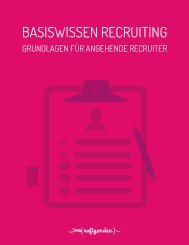 BASISWISSEN RECRUITING