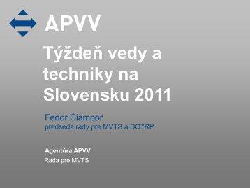 Týždeň vedy a techniky na Slovensku 2011