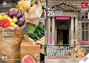 EDINBURGH DOORS OPEN DAY 2015