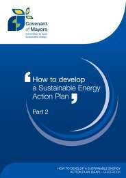 How to develop a Sustainable Energy Action Plan
