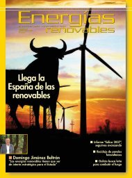 Llega la España de las renovables