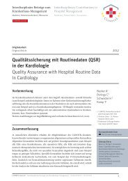 PDF 1,3 MB | 20 Seiten - CLINOTEL-Journal