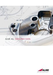 Would you like to know more about ALME - Alme AG