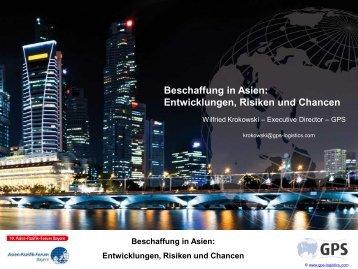 Beschaffung in Asien