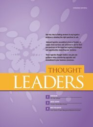 Inbound Logistics | Thought Leaders | September 2011