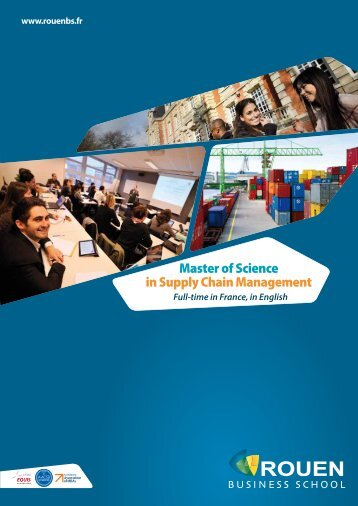 Master of Science in Supply Chain Management