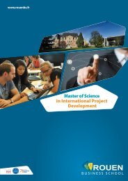 Master of Science in International Project Development