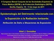 la Exposición a la Radiación Ionizante