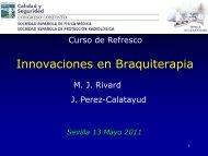 Innovaciones en Braquiterapia