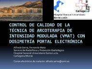 INTENSIDAD MODULADA (VMAT) CON DOSIMETRÍA PORTAL ELECTRÓNICA
