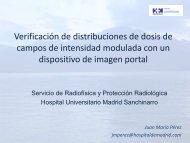 verificación de distribuciones de dosis de campos de intensidad ...